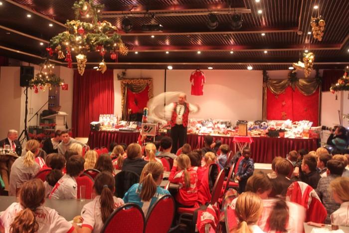 1.FC Köln Geißbockheim, Weihnachtsfeier 2012 Jugendabteilung